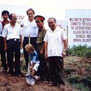 Groundbreaking Ceremony 1993