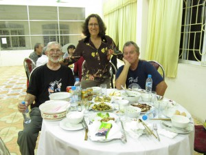 US Committee table at Friendship Village