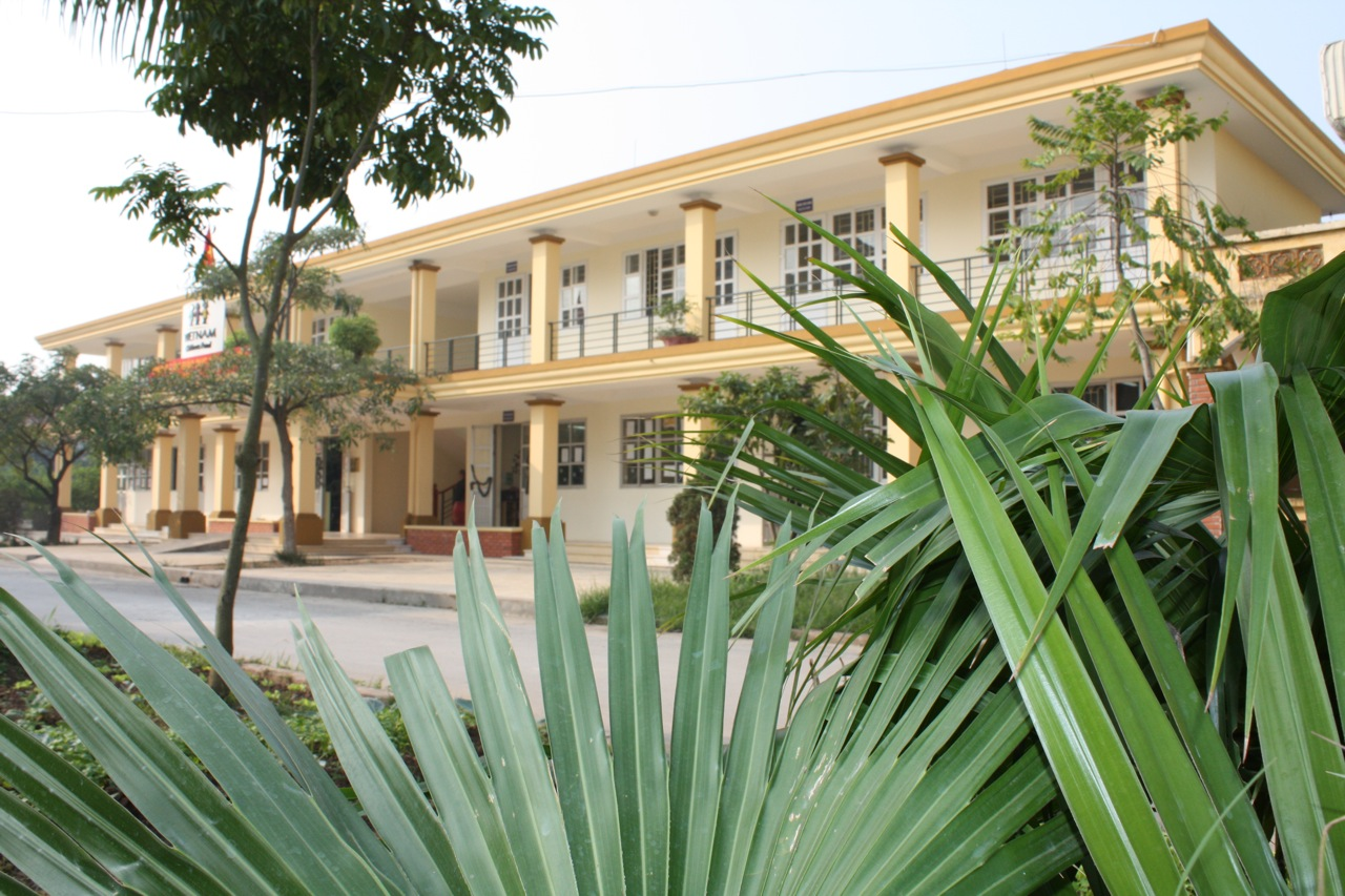 remodeled school building